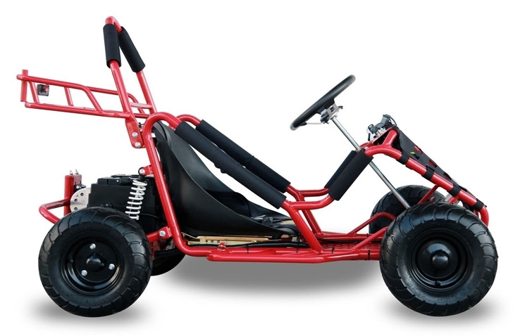 1000w Kids Junior Electric Go Kart Cart Buggy Agers Red