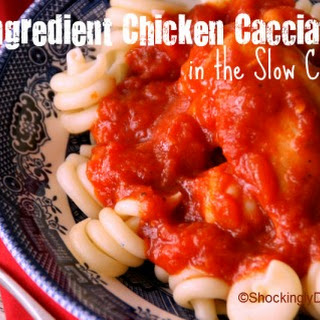 3-Ingredient Chicken Cacciatore in the Slow Cooker