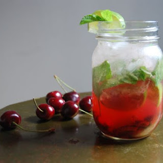 Sweet Cherry Mojitos.