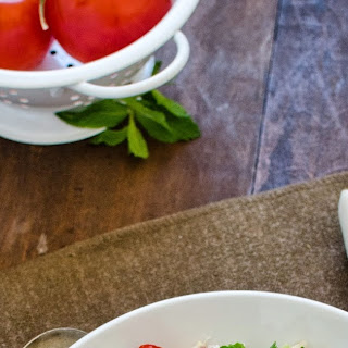 Couscous Tabbouleh Salad.