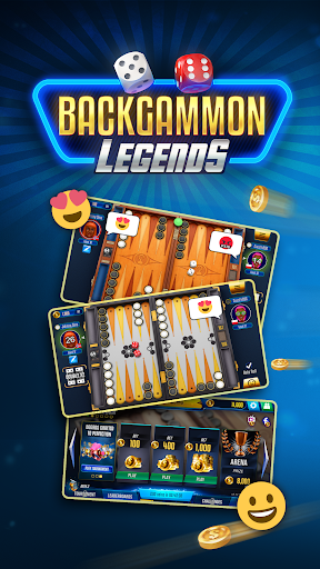 Backgammon Legends 🎲 online with chat 1.37 screenshots 1