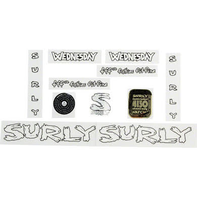 Surly Wednesday Decal Set