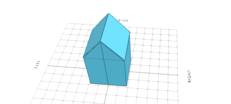 3D designing a house