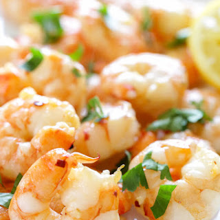 Easy Roasted Lemon-Garlic Shrimp