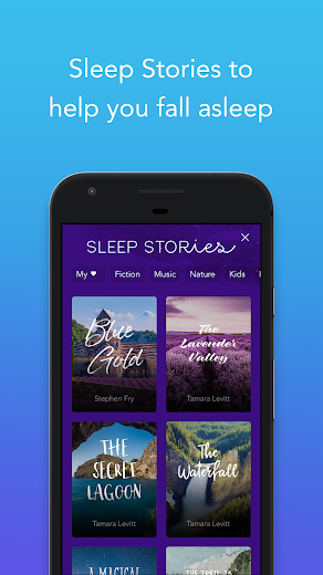 Screenshot 1 for Calm's Android app'