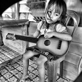 my ukulele by Muhammad Ikhsan - Babies & Children Children Candids