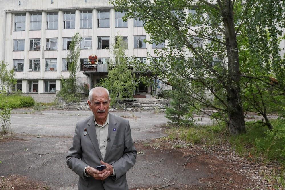 Pilot keer 33 jaar na 'n ramp terug na Tsjernobil