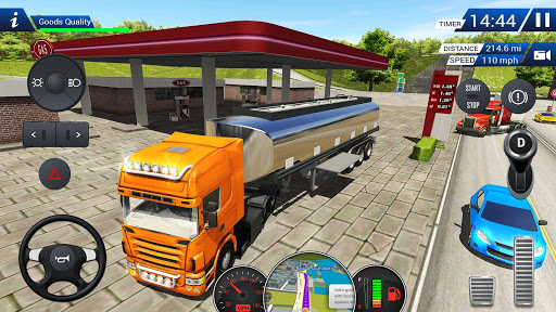 Euro Truck Driving Simulator 2018  screenshots 1