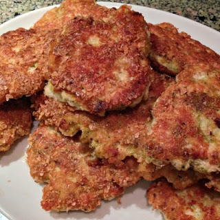 Homemade Golden Chicken Patties