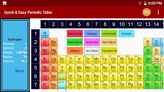 Periodic table of chemical elements chemistry app apps on google screenshot image urtaz Image collections