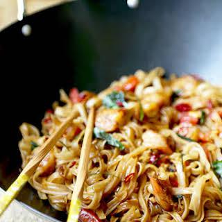 Drunken Noodles - Pad Kee Mao.