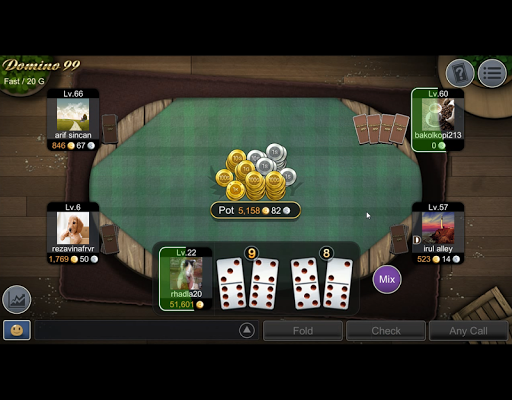 NEW Mango Domino 99 - QiuQiu  gameplay | by HackJr.Pw 4