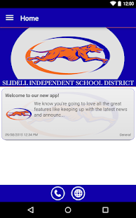 Slidell ISD- screenshot thumbnail