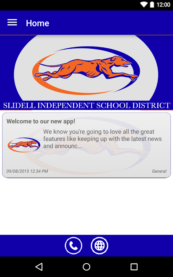 Slidell ISD- screenshot