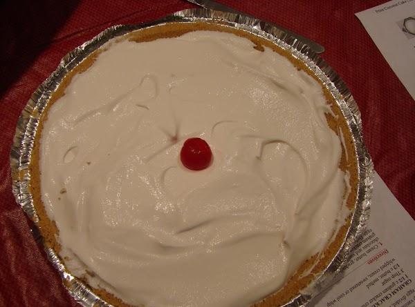 Alan Linden's Chocolate Silk Pie Recipe