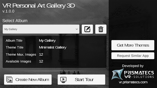 VR Personal Art Gallery 3D- screenshot thumbnail