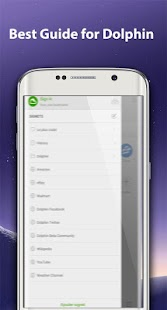 guide for Dolphin Browser - náhled