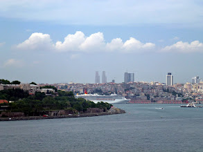 Photo: leaving Istanbul in mid-day