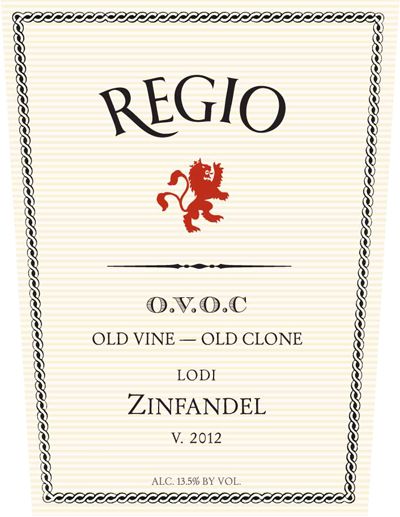 Logo for Regio Old Vine Zinfandel