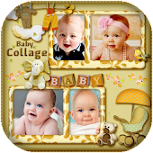 Baby Photo Collage Maker and Editor