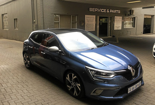 The Megane GT was dropped off at Renault Alberton for its first service. Picture: LERATO MATEBESE