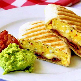 Breakfast Burrito Bacon Cheese Sour Cream Recipes