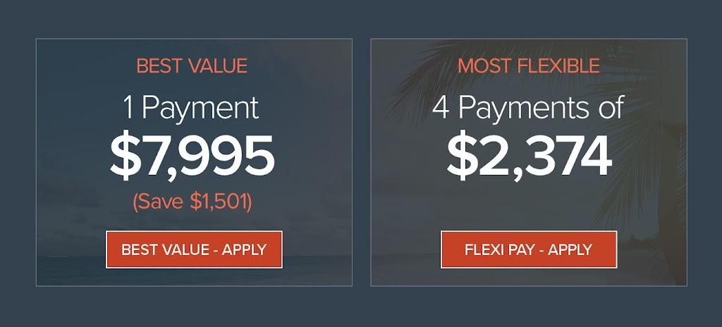 2018 REACH Retreat Payment Options
