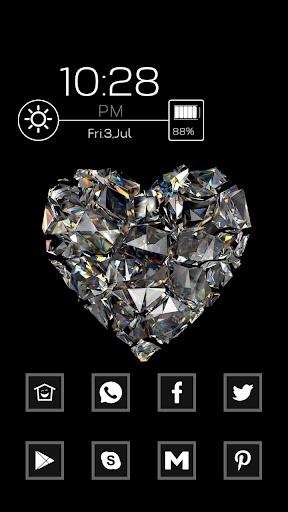 A Sparkling Diamond