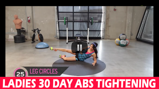 Ladies 30 Day Abs Tightening
