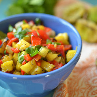 Grilled Pineapple Salsa.