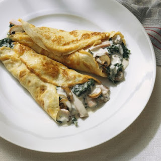 Dinner Crepe Fillings Recipes.