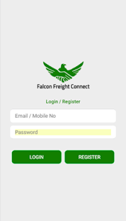 Falcon Freight Connect - Vendor Hub - náhled