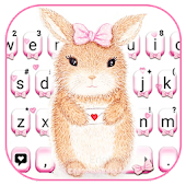 Cute Bunny Keyboard Theme Android APK Download Free By New 2019 Themes For Emoji Keyboard