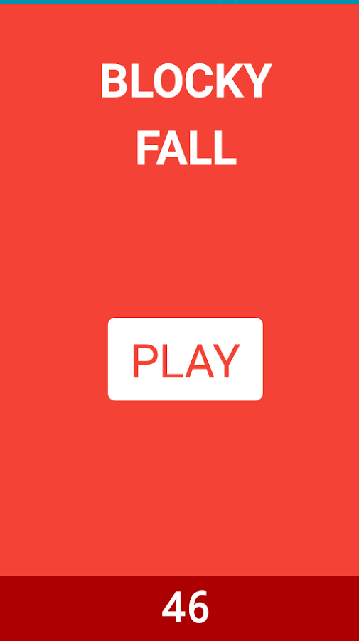 Blocky Fall- screenshot
