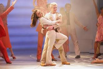 Photo: WIEN/ Raimundtheater: MAMMA MIA! - Musical von ABBA. Premiere 19.3..2014. Madeleine Lauw, Andreas Wanasek. Foto: DI. Dr. Andreas Haunold