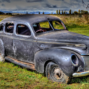 1941 Ford Mercury by Japie Scholtz - Transportation Automobiles ( car, old, vintage, ford, run, deserted,  )