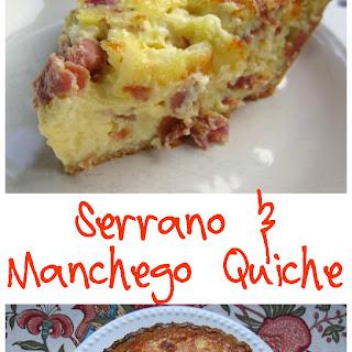 Serrano & Manchego Quiche