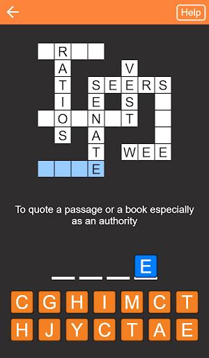 Quick Crosswords (English) apktram screenshots 7
