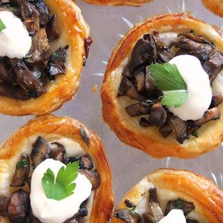 Mini Mushroom Tartlets Recipe