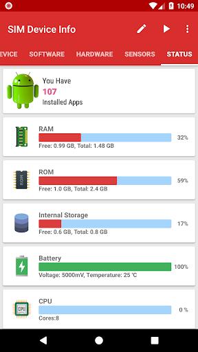 SIM Device Info 6.0 screenshots 2