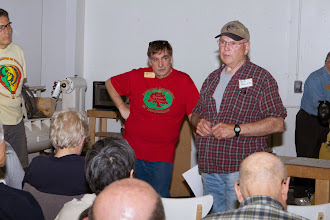 Photo: Bob Browning shares that he will have the Pole Lathe at the Strawberry Festival at Sandy Spring Museum.