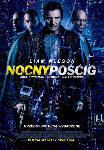 Polski plakat filmu 'Nocny Pościg'