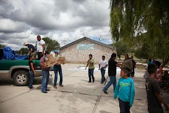 Photo: Delivering school supplies