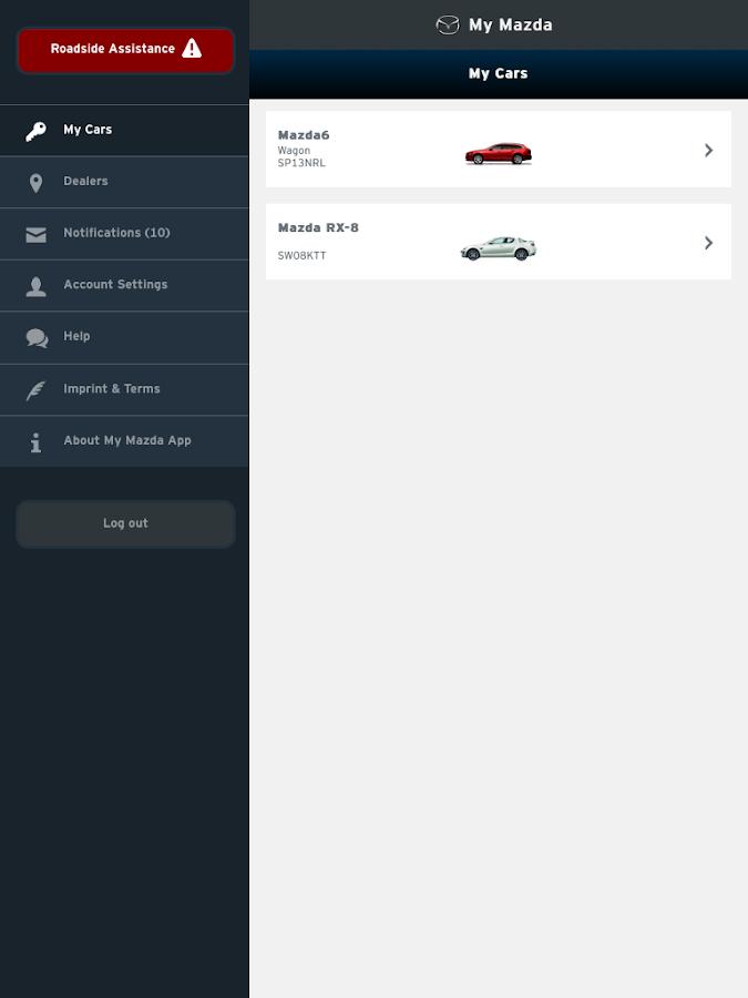 My Mazda - screenshot
