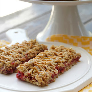 Peanut Butter and Jelly Granola Bars.