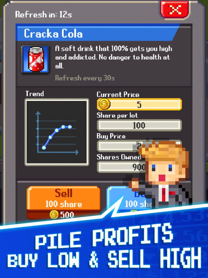Tap Tap Trillionaire - Cash Clicker Adventure Screenshot 14