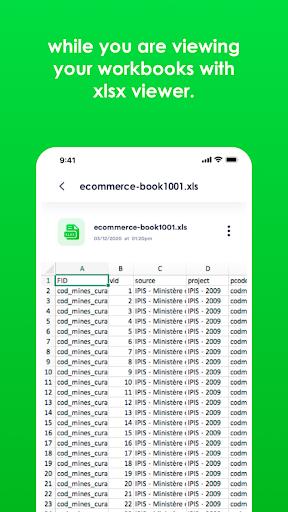 Xlsx File Reader with Xls Viewer 2.0.8 screenshots 5