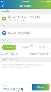 Download JupViec.vn: Giúp việc theo giờ For PC Windows and Mac apk screenshot 3