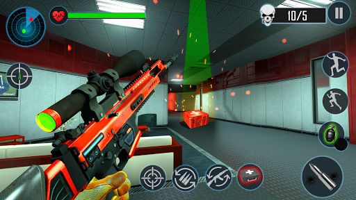 Modern FPS Counter Agent Action Shooter Free Games 1.7 screenshots 3
