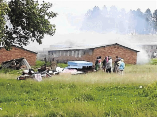 Residents of a Durban hostel are unhappy about their living condition.